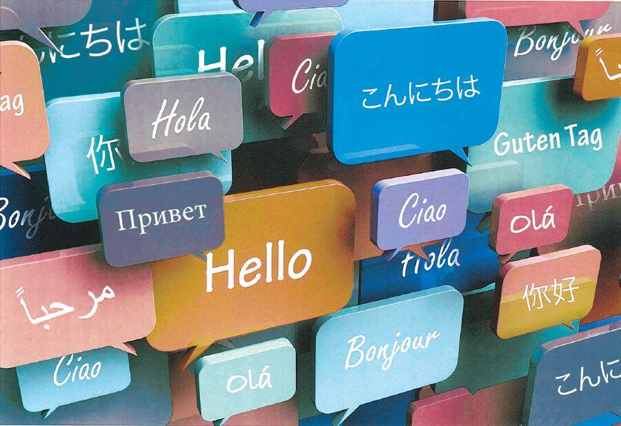 languages wall